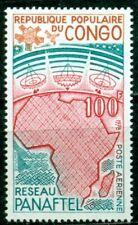Congo Scott #C247 MNH Pan-African Telecoms Network Map $$