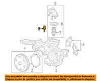 GM OEM-Coolant Temperature Sensor 12656444