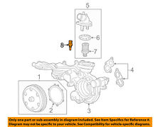 GM OEM-Radiator Coolant Temperature Sensor 12608814