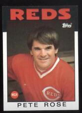 1986 TOPPS BASEBALL #741 PETE ROSE NMMT