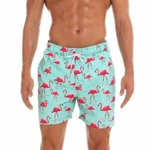 Men Swim Shorts Swimwear With Liner Swimming Trunks Board Shorts Beach Swimsuit