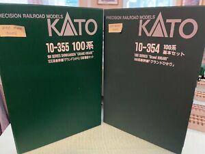 Kato N Scale Shinkansen Series 100 Grand Hikari