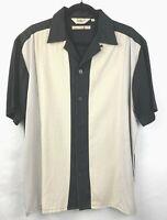 Mens Bowling Gaucho Camp Style Over Shirt M Da Vinci