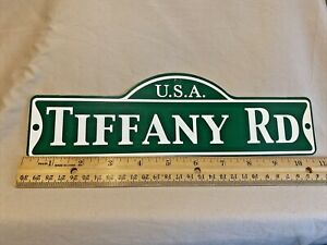 Green Street Room Sign Personalized  ~ USA  Tiffany Rd ~ Stocking Stuffer ~