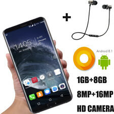 "6.1"" Unlocked Dual SIM Android 8.1 Smartphone Octa Core 8GB Cell Phone GPS 16MP"