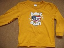Born to love Daddy top age 4T