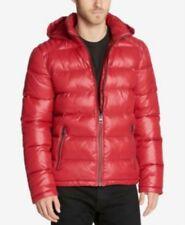 GUESS Men's Re Hooded Puffer Down Coat sz XL 134890