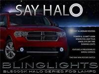 Halo Fog Lamp Angel Eye Driving Light Kit Harness for 1994-2008 Dodge Ram 1500