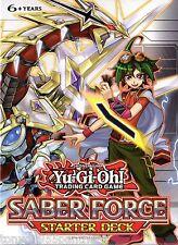 YUGIOH! SABER FORCE 1st ed STARTER DECK