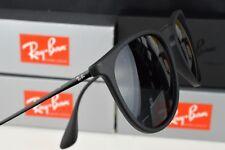 Ray-Ban ERIKA RB4171 622/8G 54mm Sunglasses Black Polarised Lens