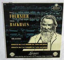 FOURNIER - BACKAUS  - Brahms Sonata n. 1 Opus 38, Sonata n. 2 Opus 99 - LONDON