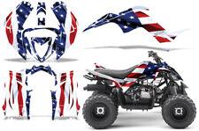 ATV Graphics kit Sticker Decal for Yamaha Raptor 90 2016-2020 Stars and Stripes