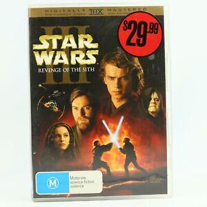 Star Wars Episode III Revenge Of The Sith Ewan Mcgregor Hayden Christensen DVD