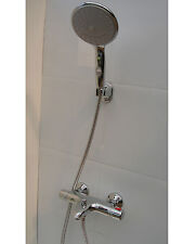 "THERMOSTATIC BATH SHOWER MIXER TAPS, WALL MOUNTED, LARGE 6"" HAND SHOWER, 329/352"