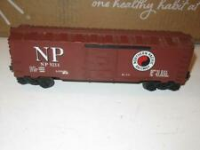 LIONEL - MPC - 9214 NORTHERN PACIFIC BOXCAR- 0/027 SCALE- EXC. P10