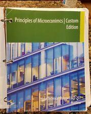 Principles of Microeconomics, Mankiw ECO 251 Custom edition - used