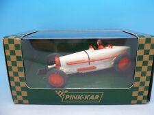 Pink Kar Pre Production Bugatti, white and orange mint