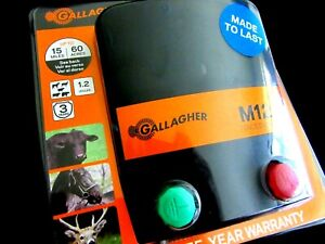 GALLAGHER - M120 1.2 JOULE FENCE ENERGIZER
