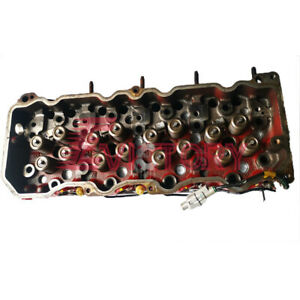 Genuine N04C-T N04C N04CT cylinder head with injetcor tube for Hino 300 truck