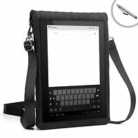 Neoprene Tablet Sleeve w/ Touch Capacitive Screen & Adjustable Strap + Stylus