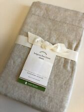 Pottery Barn Belgian Flax Linen EURO Pillow Sham ~ Natural ~ New With Tags
