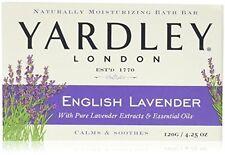 Yardley Moisturizing Bar Soap With Essential Oils English Lavender 6 Count