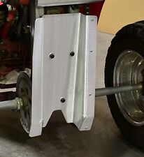 HONDA 350X ATC SWINGARM SKID PLATE & REAR DESERT GRAB BAR