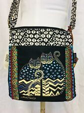 NWT Laurel Burch Crossbody Embellished Cat Bag.  LB 4315.