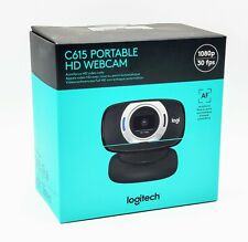Logitech C615 Portable Webcam Full HD 1080p Autofocus PC and Mac NEW SHIPS FAST