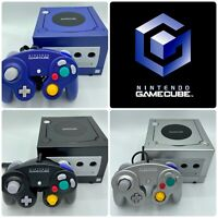 Nintendo GameCube DOL-001 | Cords + Controller | 100% Nintendo | Good Condition