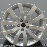 "GENUINE RANGE ROVER SPORT V SPOKE 20"" INCH ALLOY WHEELS X4, DISCOVERY 3/4 VW T5"