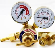 Acetylene Gas Regulator Welding Cutting Torch Pressure Gauge Fits Victor NEW