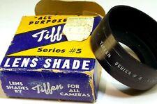 Tiffen 33mm series 5 V Metal Lens Hood Shade screw in for 33.3mm