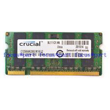2GB PC2-6400 DDR2 800Mhz 200pin Laptop SoDimm Memory NON-ECC Low Density 1.8v