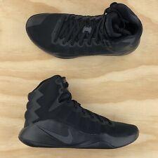 Nike Hyperdunk 2016 Triple Black Anthracite Basketball Shoes 844359 008 Size 10