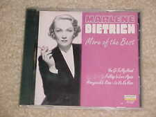 More of the Best by Marlene Dietrich (CD, Oct-1996, Laserlight)