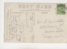 Rudyard 11 Aug 1915 Rubber Handstamp Postmark 390b
