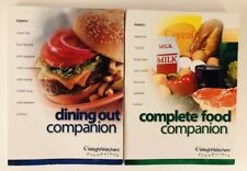 Weight Watchers Complete Food Companion & Dining Out Companion Books 2003