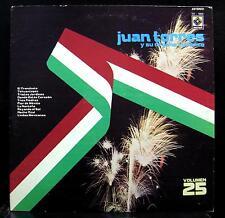 Juan Torres - Vol. XXV LP VG+ EDM-1684 Vinyl 1976 Record