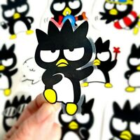 RARE! 10 Large Batz Maru Waterproof Kawaii Stickers For Laptop Hydro Flask