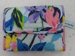 Vera Bradley Euro Wallet Marian Floral  NWT