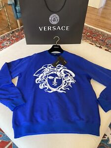 Versace Men's Medusa Sweatshirt, XL, NWT