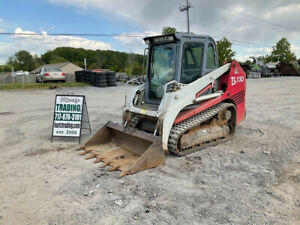 2006 Takeuchi TL130 Compact Track Skid Steer Loader w/ Cab Clean!!!