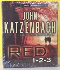 RED 1-2-3  by John Katzenbach (CD UNABRIDGED) ~ NEW