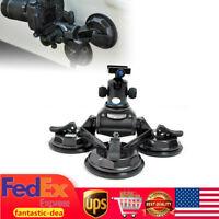 Car Video Sucker Mount Stabilizer Holder Stand For DV DSLR Camera Comcorder USA