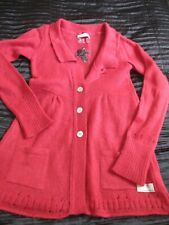 Odd Molly mohair blend cardi red  size 0