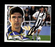 Karanka Real Madrid 2000-01 Sammelbild Original Signiert+ A 157870