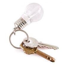 Pop Flash Light Lamp Mini LED Bulb Torch Key Chain Light Up Keychain Keyring