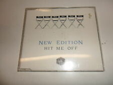 Cd   New Edition  ‎– Hit Me Off
