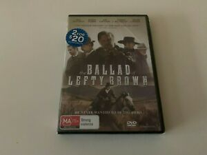 THE BALLAD OF LEFTY BROWN DVD, 2018 RELEASE, NEW & SEALED, FREE POST